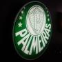 Luminoso de Parede Palmeiras 30cm Acrilico LED, Luminoso de Bar e Churrasqueira, Placa Decorativa de Parede