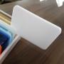 Placa de Acrilico Branco 100cm x 50cm Espessura 2mm, Chapa de Acrilico