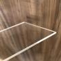 Placa de Acrilico Transparente 30cm x 30cm Espessura 8mm, Chapa de Acrilico Cristal, Incolor