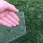 Placa de Acrilico Transparente 50cm x 50cm Espessura 4mm, Chapa de Acrilico Cristal, Incolor