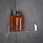 Porta Shampoo, Sabonete e Acessórios em Acrilico para o canto do Box do Banheiro