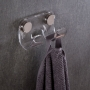 Porta Toalhas, Roupões e Roupas Duplo em Acrilico Transparente
