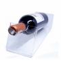Porta Vinho de Mesa Para Uma Garrafa em Acrilico Cristal