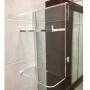 Prateleira Porta Shampoo em Acrilico Para Banheiro com Box de Vidro