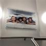 Quadro de Parede em Acrilico Personalizado com sua Foto - Tam. 120x60cm
