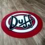 Quadro Placa Decorativa de Parede Modelo Duff em Acrílico
