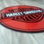 Quadro Placa Decorativa de Parede Modelo Harley Davidson em Acrílico