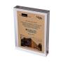 Troféu de Acrilico Personalizado com Gravação - Tamanho 12,5cm x 18cm