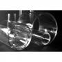 Tubo de Acrílico Transparente Cristal | Medidas: Comprimento 2 metros - Diâmetro 30mm - Espessura da Parede 2mm