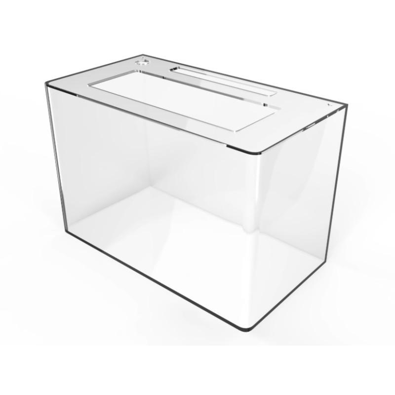 Aquario de Peixe em Acrilico 35 litros 50x30x25cm