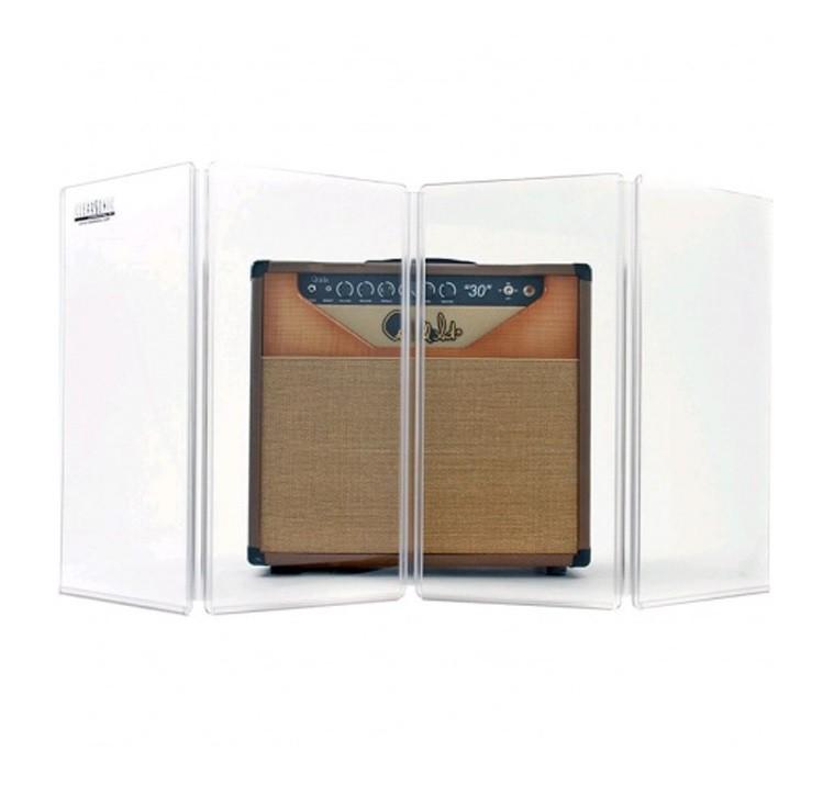 Aquário Isolador de Som em Acrilico Para Cubo de Guitarra - 4 Placas de 30x60cm
