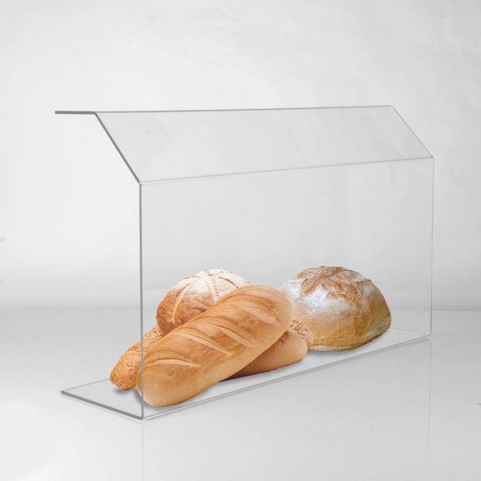 Barreira de Proteção para Comida, Alimentos em Padarias, Cafés, Lanchonetes - 90cm x 50cm