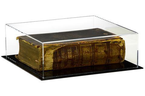 Caixa de Acrilico Expositora Tamanho 30x10x30cm Ideal Para Livros e Itens Colecionáveis