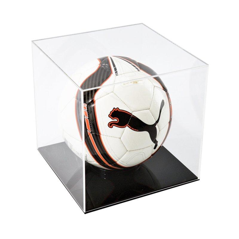 Caixa de Acrilico Expositora Tamanho 30x30x30cm Ideal Para Bolas de Futebol e Vôlei