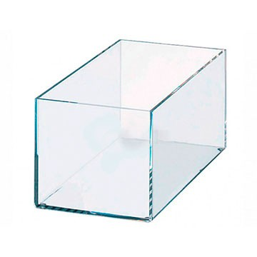 Caixa de Acrilico Transparente Sem Tampa 30x20x15cm