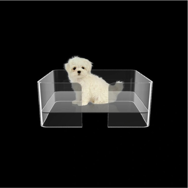 Caminha para Cachorro de Acrilico Transparente - Cama para PET luxo 1