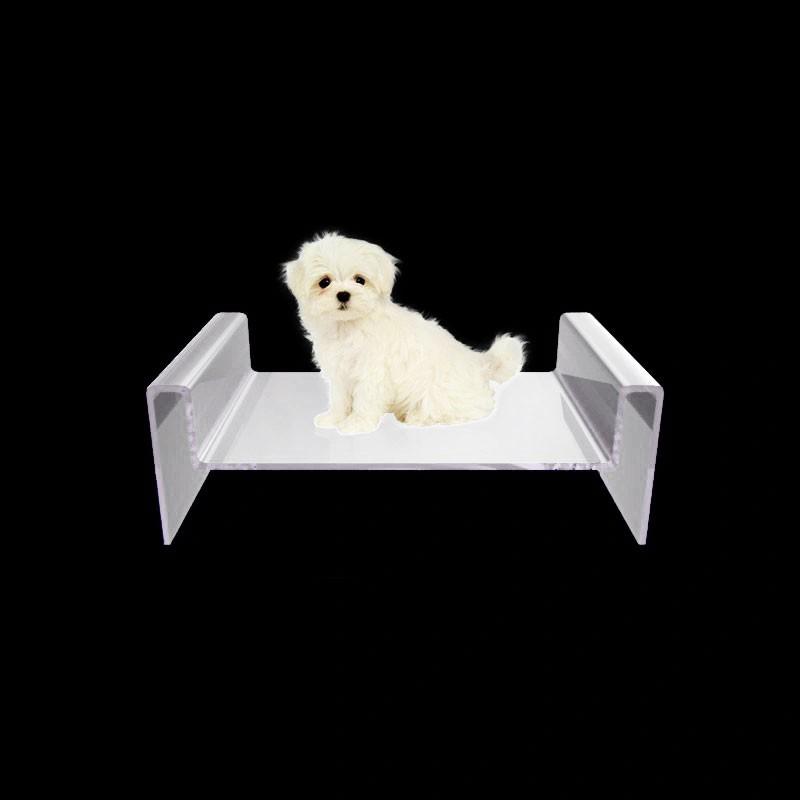 Caminha para Cachorro de Acrilico Transparente - Cama para PET luxo 2
