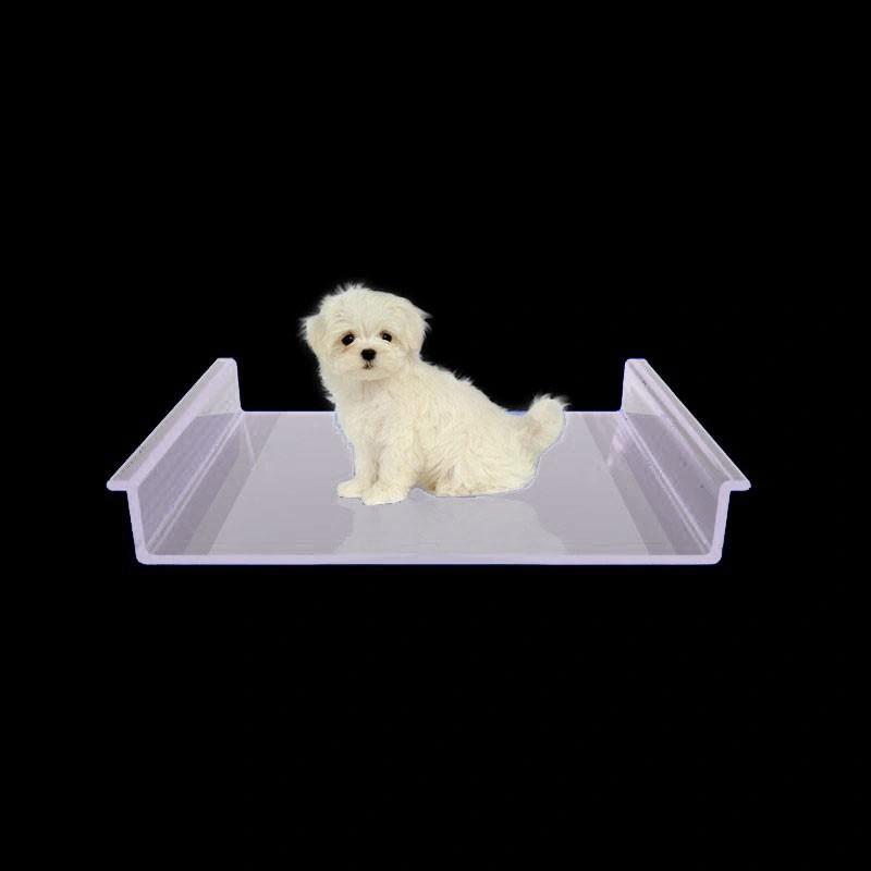 Caminha para Cachorro de Acrilico Transparente - Cama para PET luxo 3