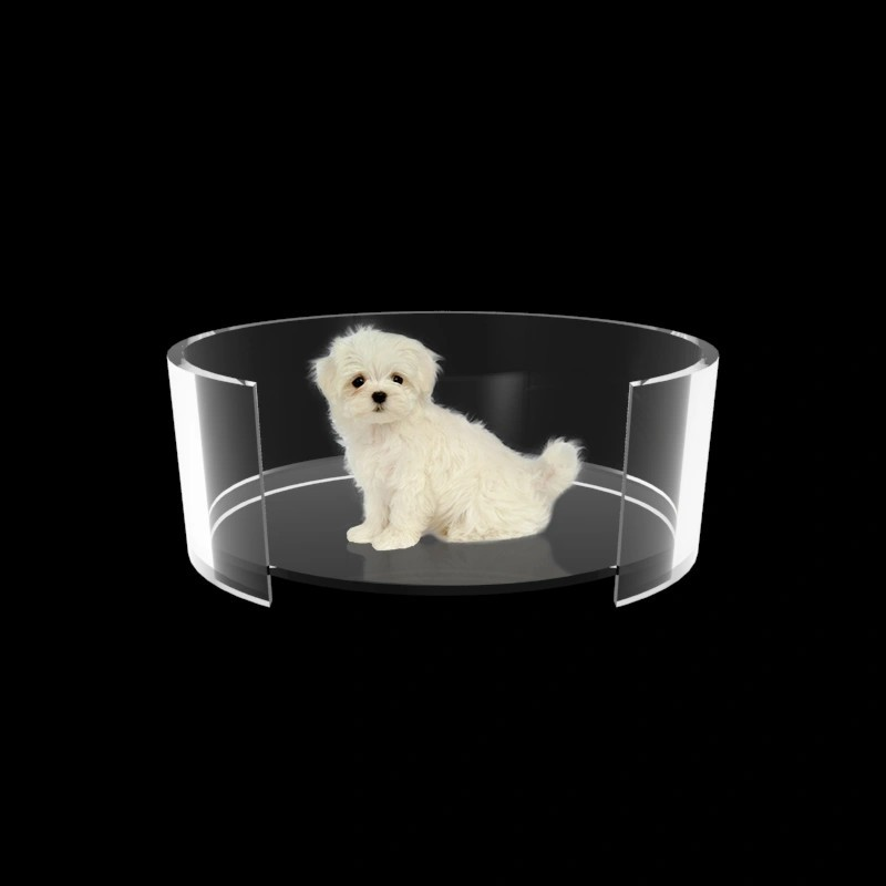 Caminha para Cachorro de Acrilico Transparente - Cama para PET luxo 5