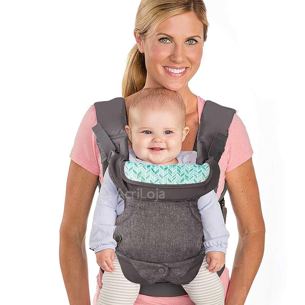 Canguru Para Bebe Infantino 4 Posições Para Carregar seu Bebê