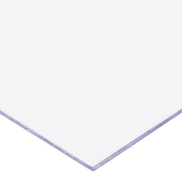 Chapa de PS Poliestireno Cristal Transparente Espessura 2mm Medida 100x50cm
