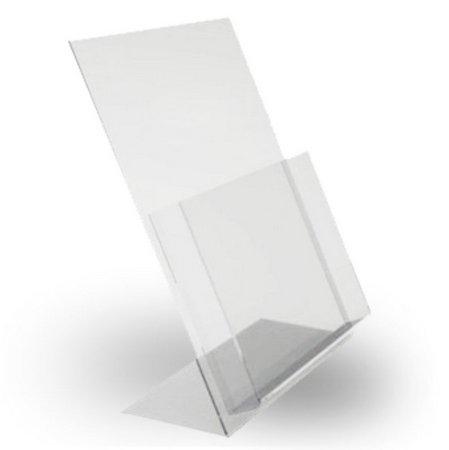 Display Porta Folder e Folheto de Mesa - Para folha A6