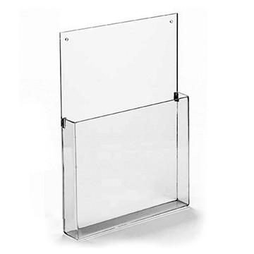 Display Porta Folder e Folheto de Parede - Para folha A6