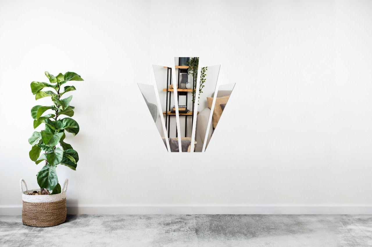 Espelho Decorativo em Acrilico Para Parede de Sala, Quarto, Cozinha e Escritorio - Modelo Gatsby