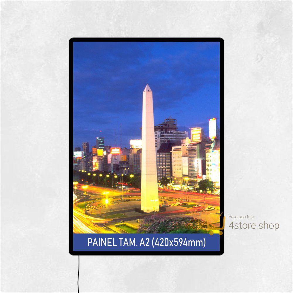 Painel de LED de Parede Tamanho A2 para PDV ponto de venda, quadro, luminoso de parede