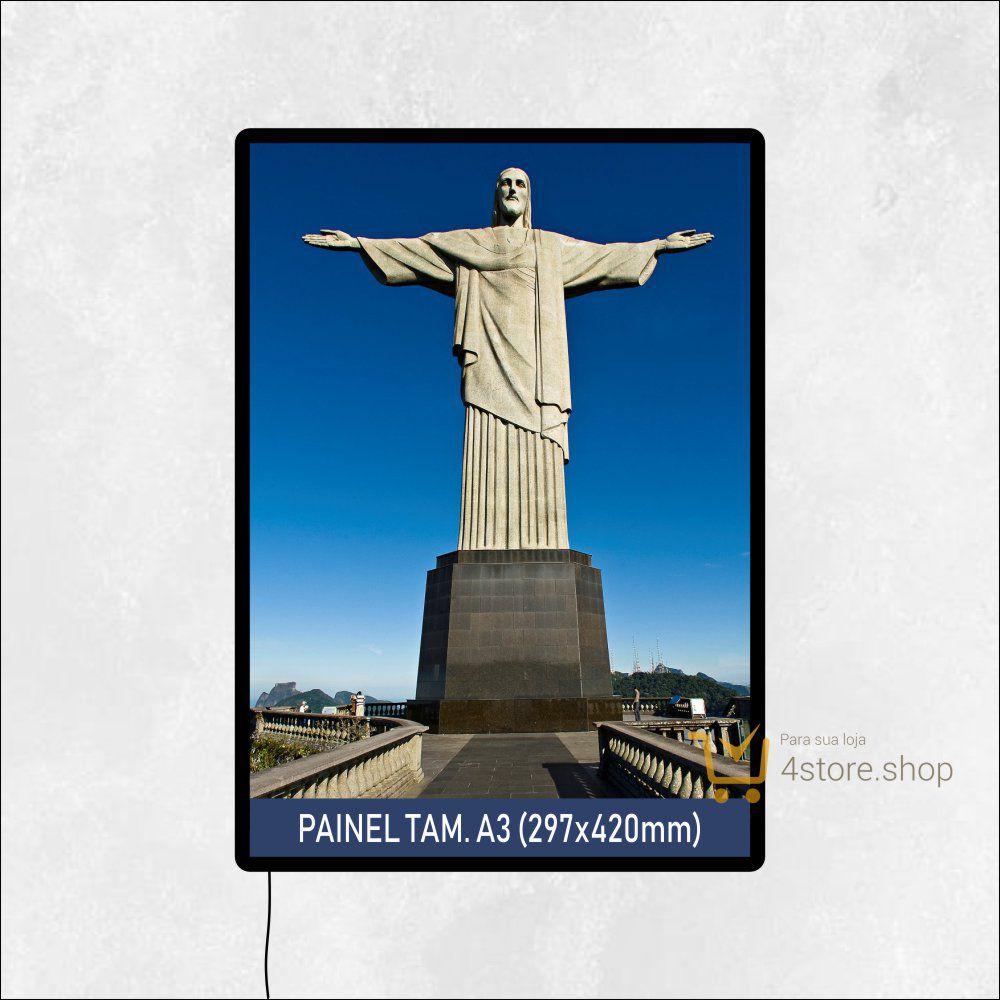 Painel de LED de Parede Tamanho A3 para PDV ponto de venda, quadro, luminoso de parede