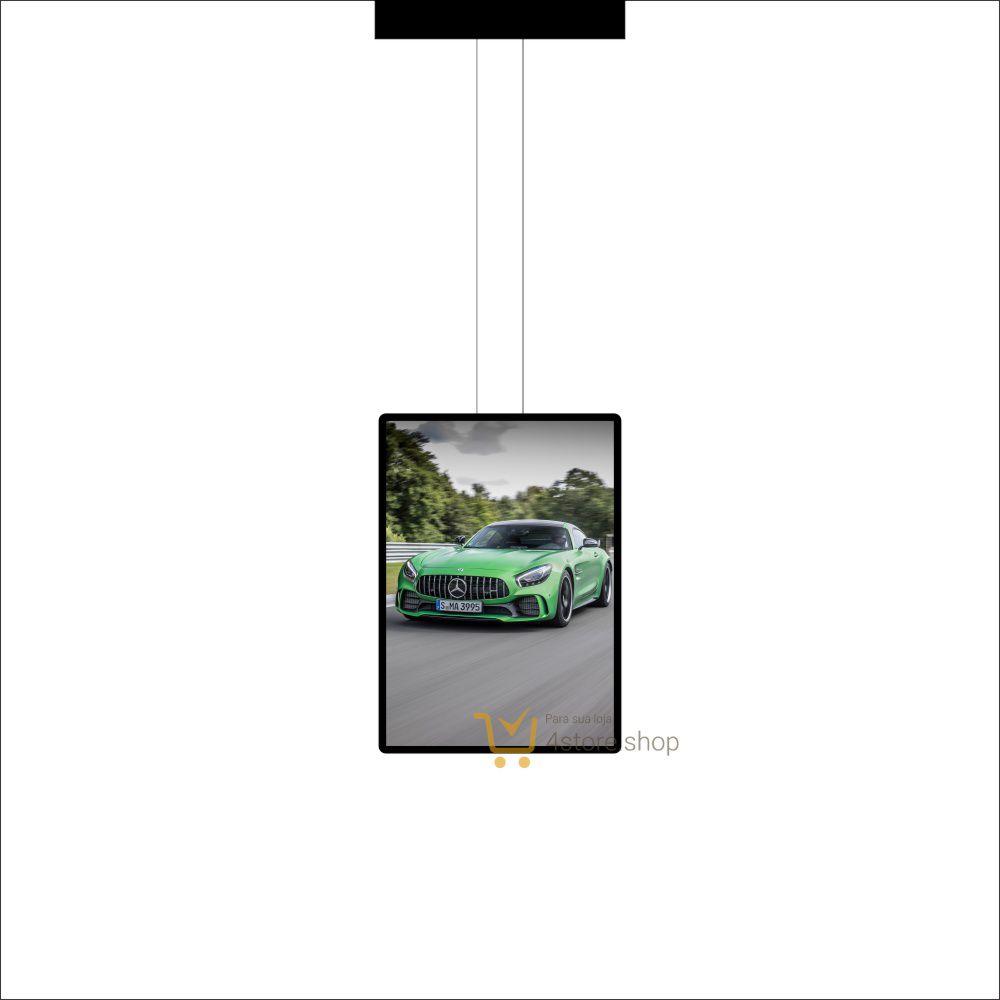 Painel de LED para Vitrines e Fachadas iluminadas de concessionarias |1 Display tamanho A1
