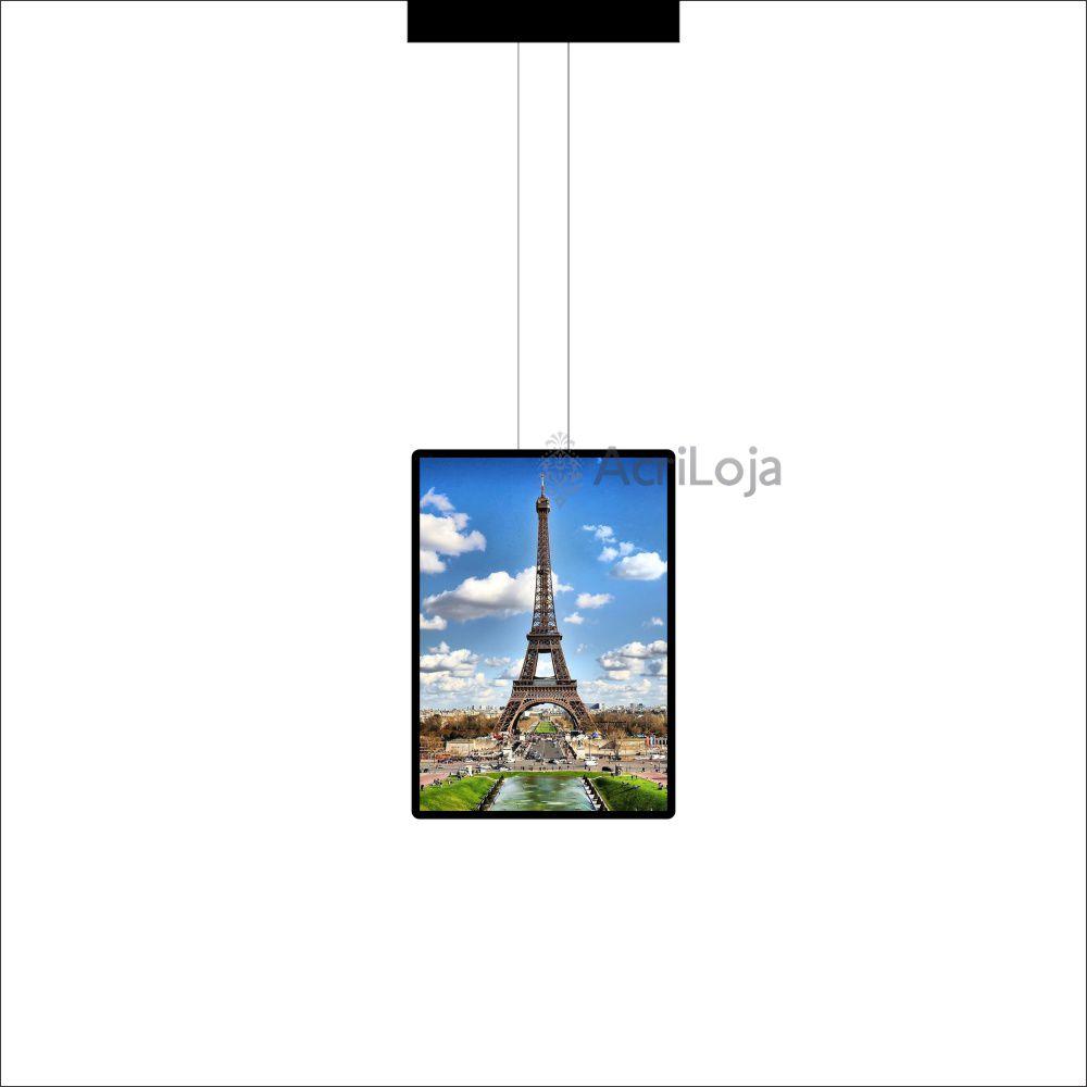 Painel de LED para Vitrines e Fachadas iluminadas de lojas |1 Display tamanho A1