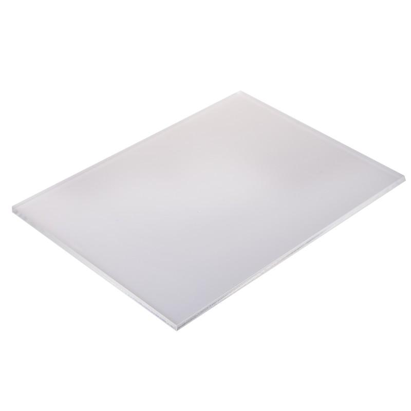Placa de Acrilico Branco 50cm x 50cm Espessura 3mm, Chapa de Acrilico