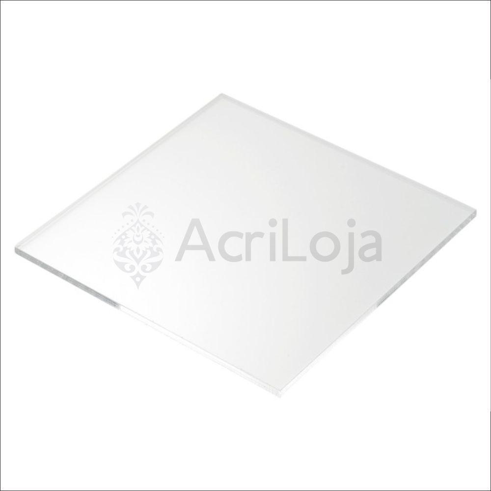 Placa de Acrilico Sob Medida Transparente, Cristal, Incolor, Chapa de Acrilico