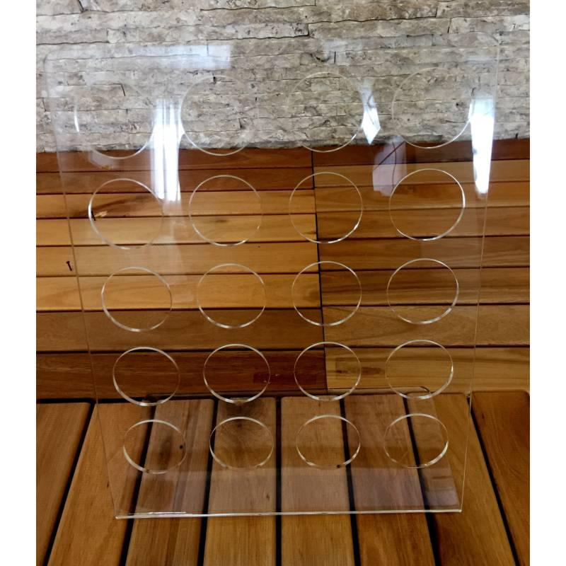 Porta Capsulas de Café Em Acrilico Transparente - Organizador Para 20 Capsulas