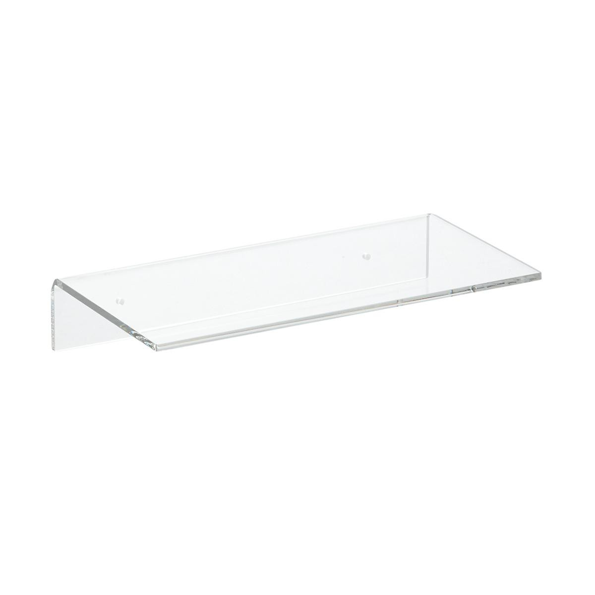 Prateleira de Acrilico Transparente Tamanho 30cm x 15cm