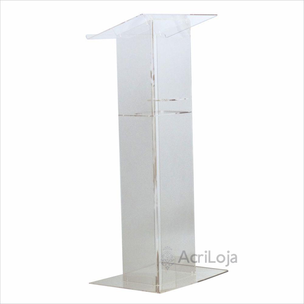Pulpito de Acrilico Lisboa, Tribuna para igrejas, empresas, eventos de discurso e leitura