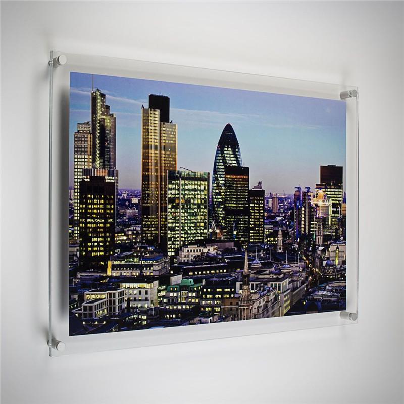 Quadro de Parede em Acrilico Personalizado com sua Foto - Tam. 80x80cm