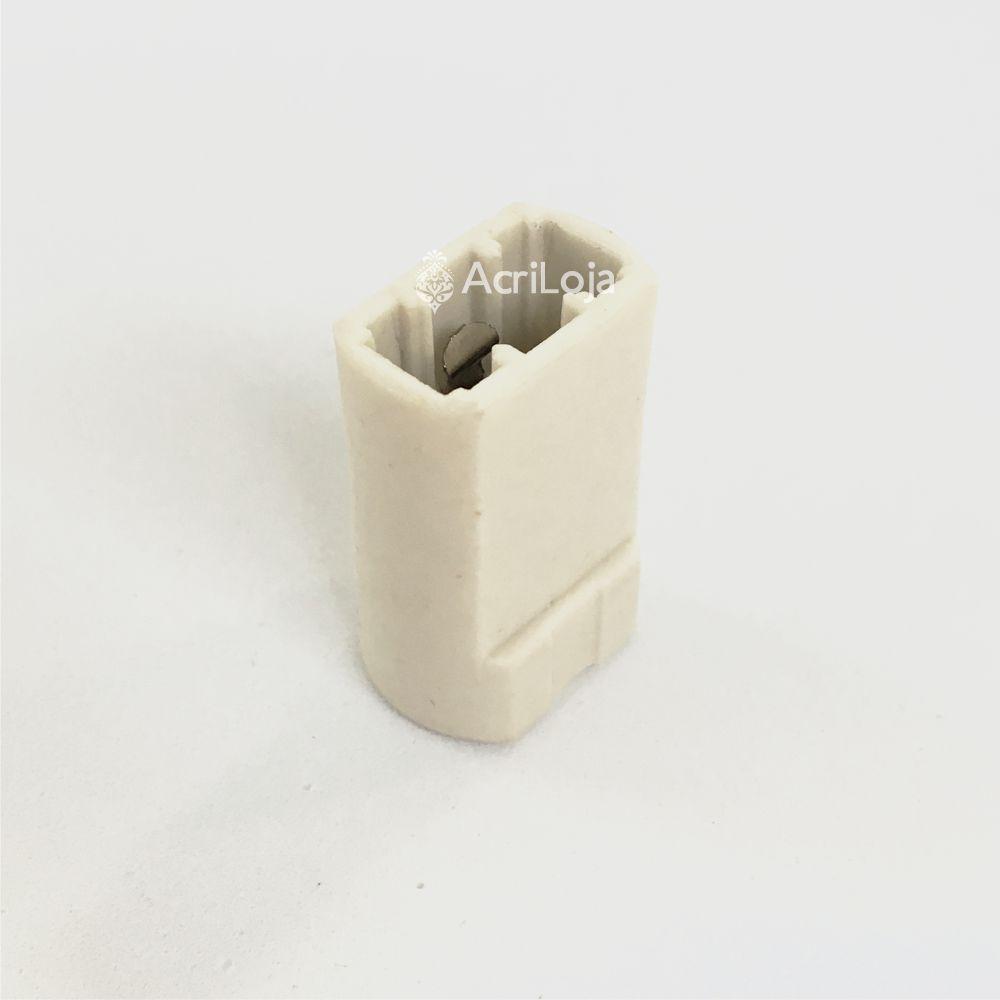 Soquete G9 Halopin A6625 Sem Fiação, Kit 50 unidades de Bocal G9 para luminárias