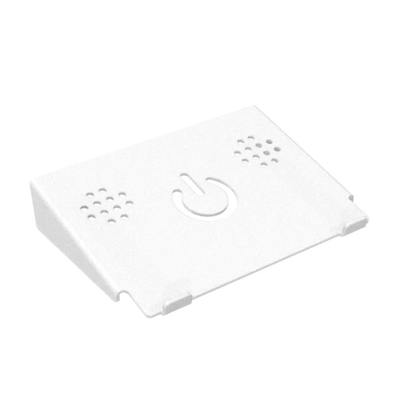 Suporte De Notebook E Macbook de Mesa Em Acrílico Branco