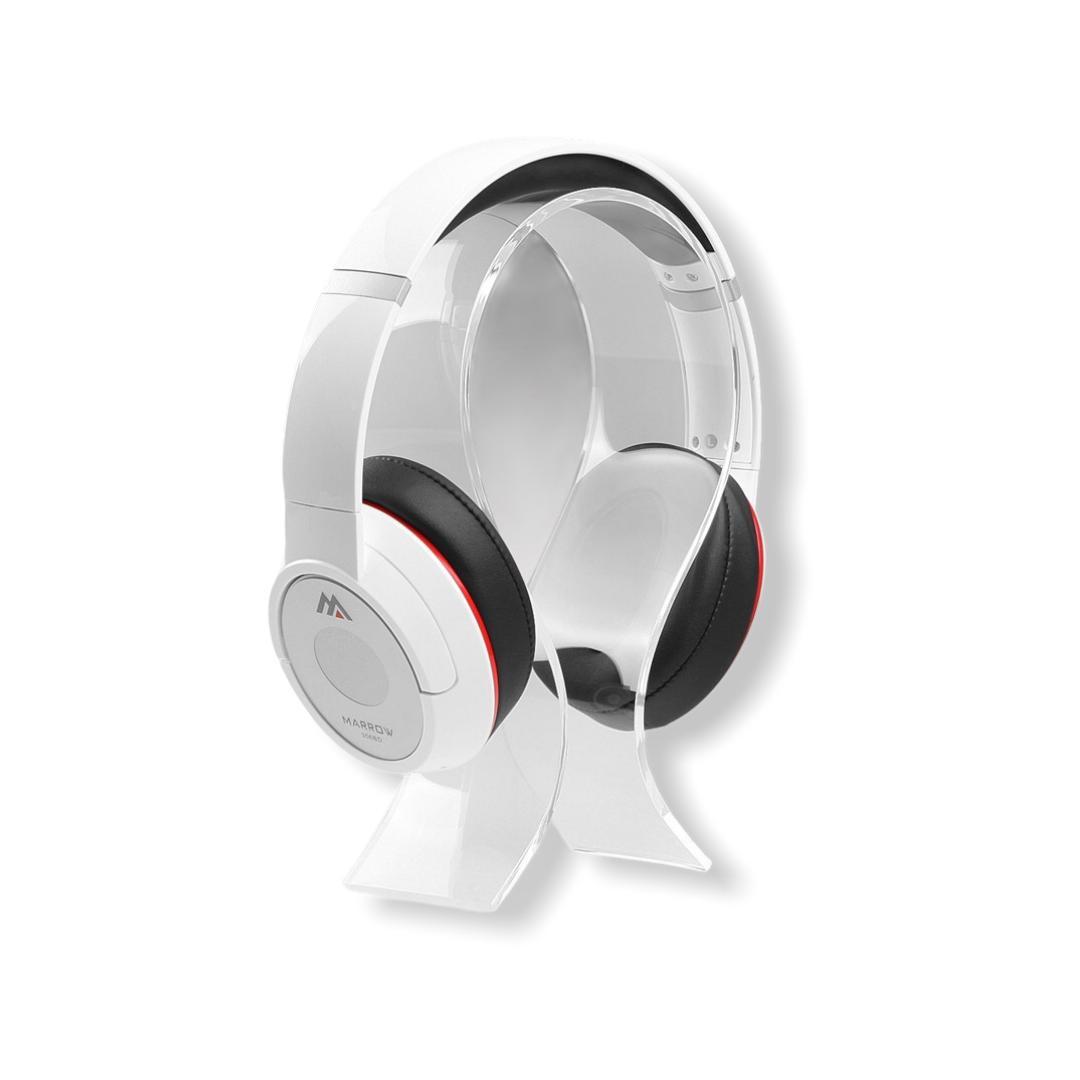 Suporte Para Headset Headfone Fone de Ouvido em Acrilico Para Gamers, Lojas - Acrilico 2mm