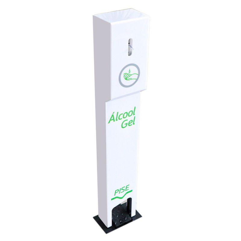 Totem para Alcool Gel Personalizado em Acrilico Para Lojas e Empresas