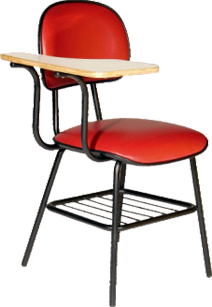 AF 1125 - Cadeira Universitária com prancheta fixa, palito, encosto baixo