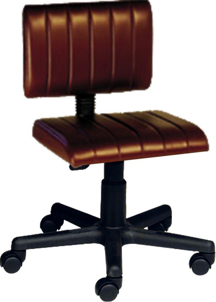AF 1823 - Cadeira Giratória Secretária sem Braços, Encosto Baixo