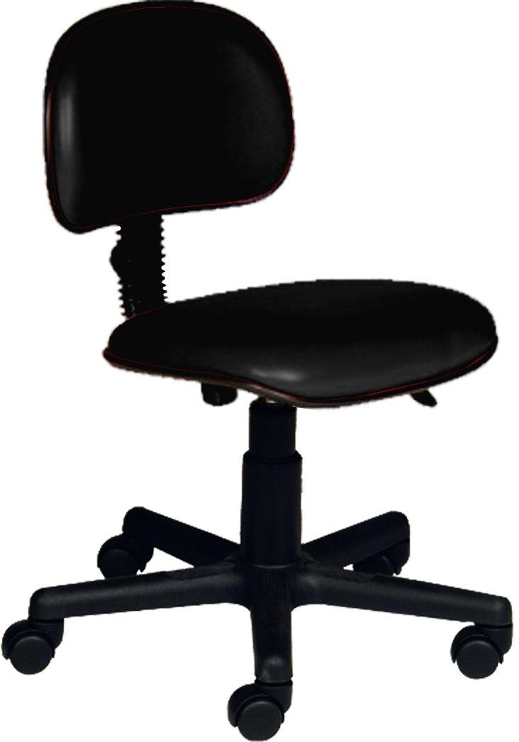 AF 1899 - Cadeira giratória secretária sem braços, encosto baixo