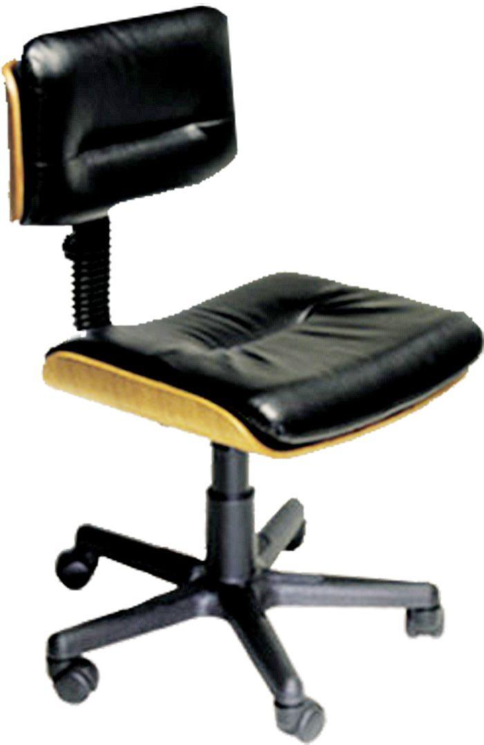AF 2003 - Cadeira giratória executiva sem braços, encosto baixo