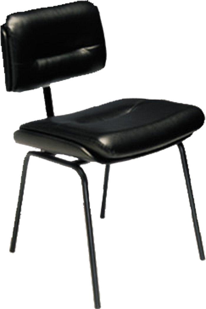 AF 2004 - Cadeira fixa, pés palito, sem braços, encosto baixo