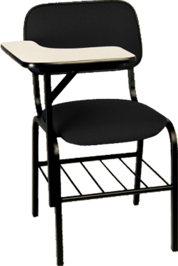 AF 7000 - Cadeira Universitária fixa com prancheta, palito, encosto baixo
