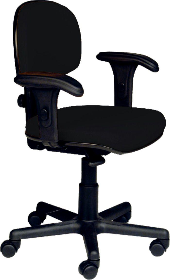 AF 8003-CB - Cadeira giratória executiva sem braços reguláveis, encosto baixo