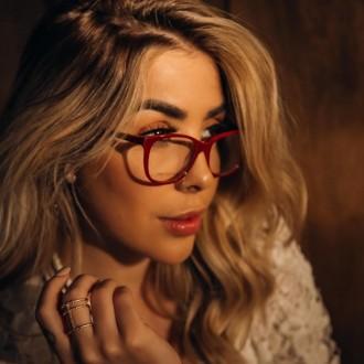 Óculos De Grau Liv 6392 Vermelho